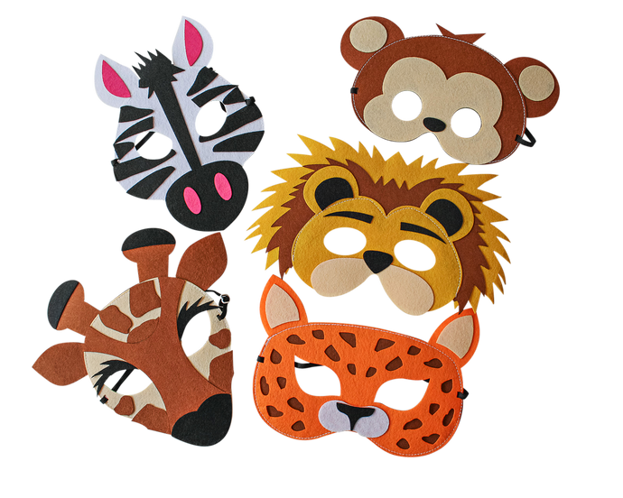 Safari Animal Masks