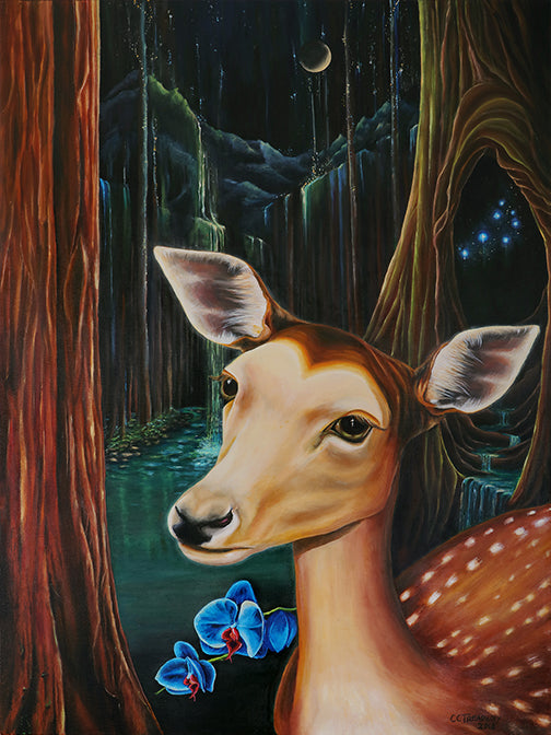 Dream Deer in the Forest