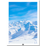 Poster France: Mont Blanc