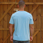 T-Shirt - Still Exploring -  Bleu Ciel