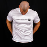 T-Shirt - Exploring The World - Blanc
