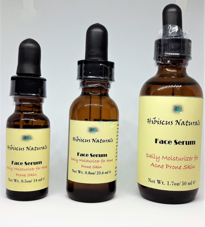 Daily Face Moisturizer / Face Oil/ Face Serum