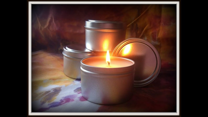 Aromatherapy Massage Oil Candles