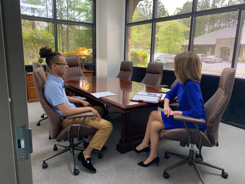 Mock interviews On River Time and Ascend Big Oak Ranch college students