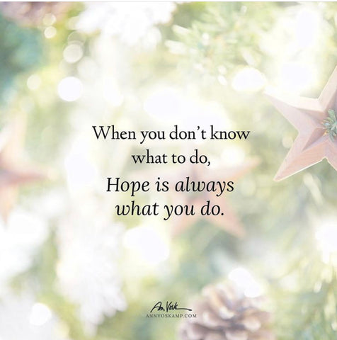 Ann Voskamp Hope is what you do