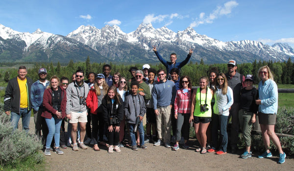 On River Time campers group 2 at Grand Tetons 2019