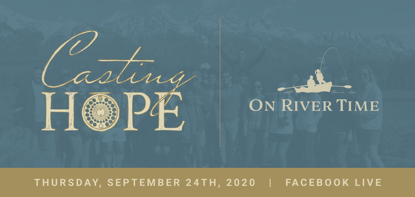Casting Hope, Virtually On River Time banner image