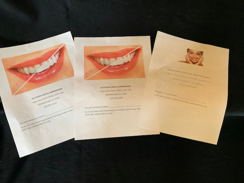 Teeth Whitening and Botox
