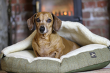 Tweed Cave Dog Bed