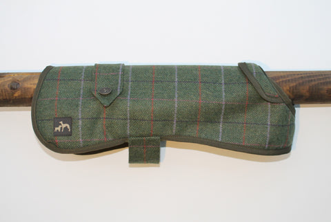 'One for the Girls' Tweed Dog Coat