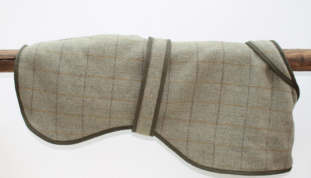 Tweed Lurcher / Greyhound Coat