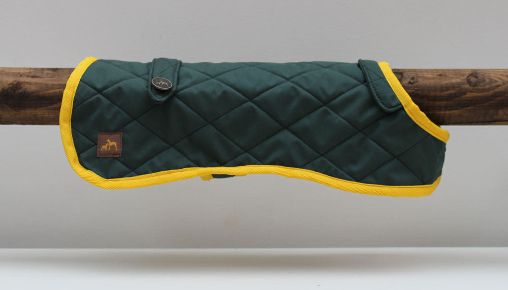 Green Quilted