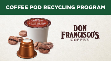 Go Green, Recycle Your Coffee Pods