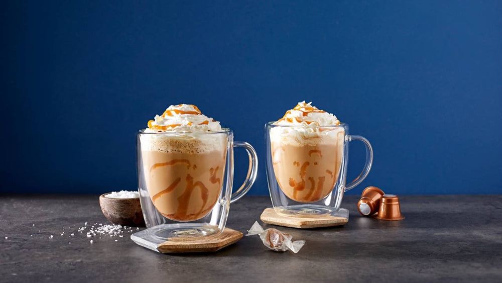 Salted Caramel Almond Latte