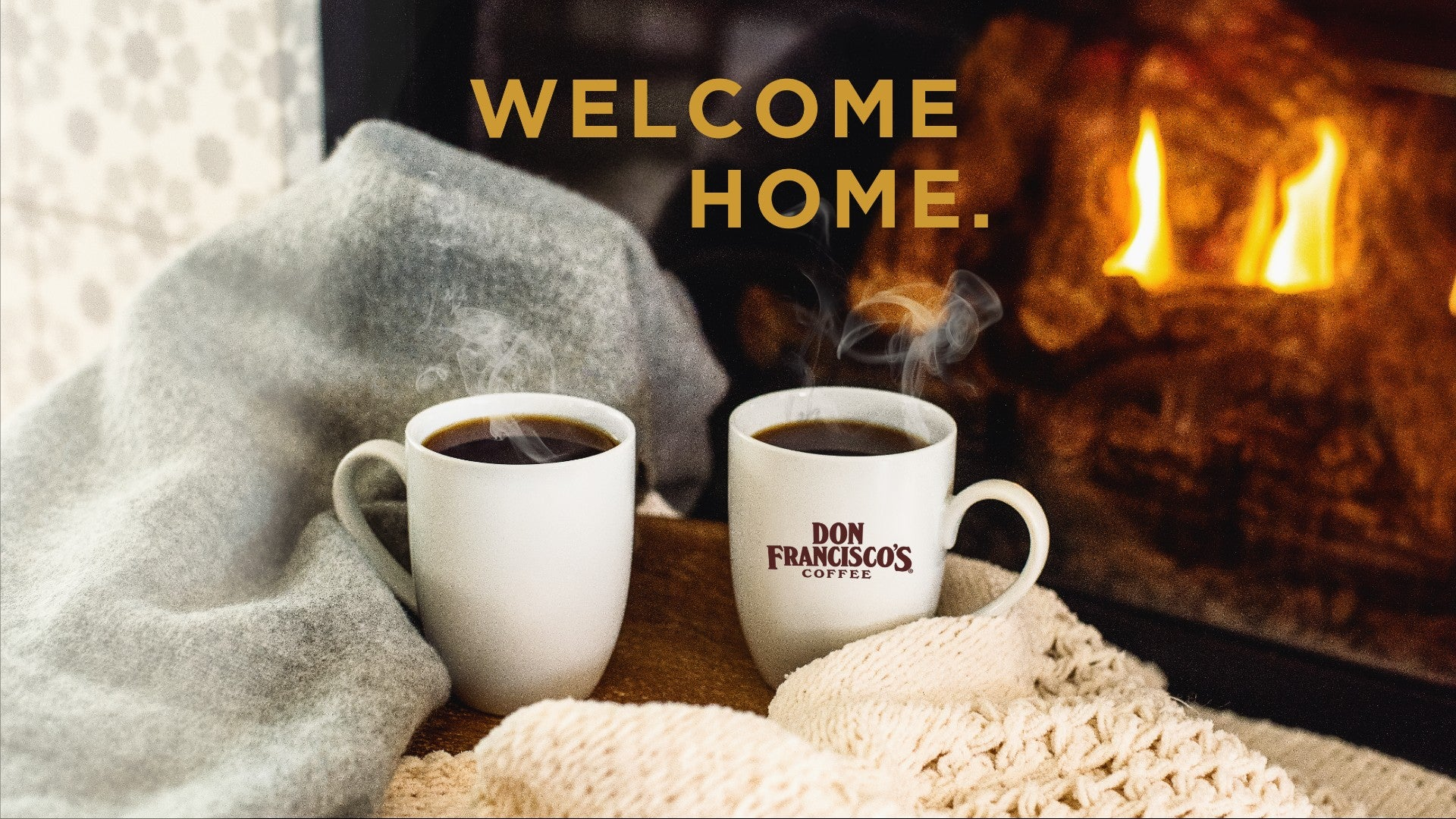 Don Francisco's Coffee Welcome Home Billboard