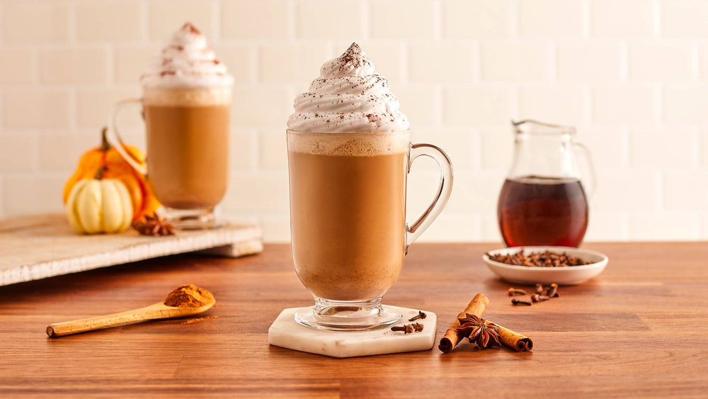Pumpkin Spice-Infused Coffee and Cream