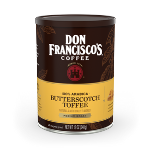Butterscotch Toffee Coffee Can