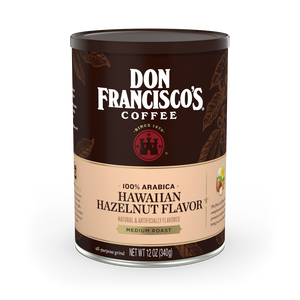 Hawaiian Hazelnut Coffee Can