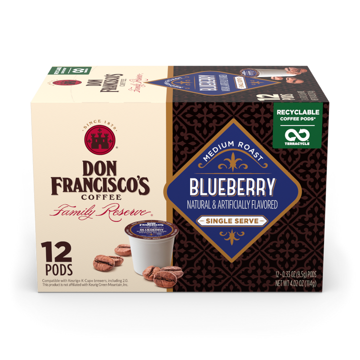 Blueberry Coffee Pods