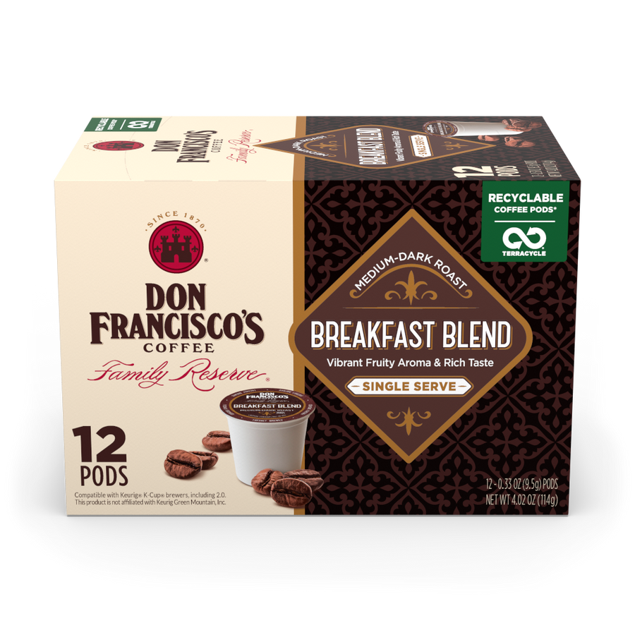Breakfast Blend Coffee Pods