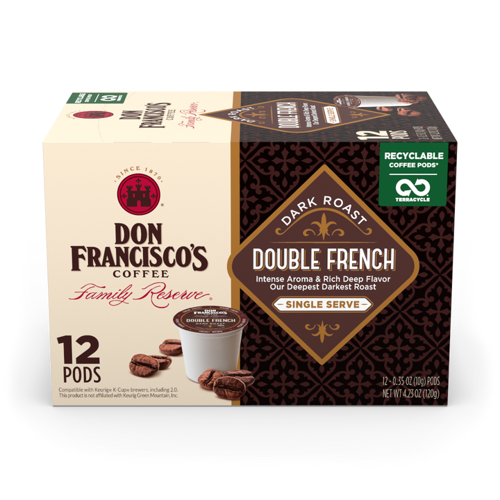 Double French Coffee Pods