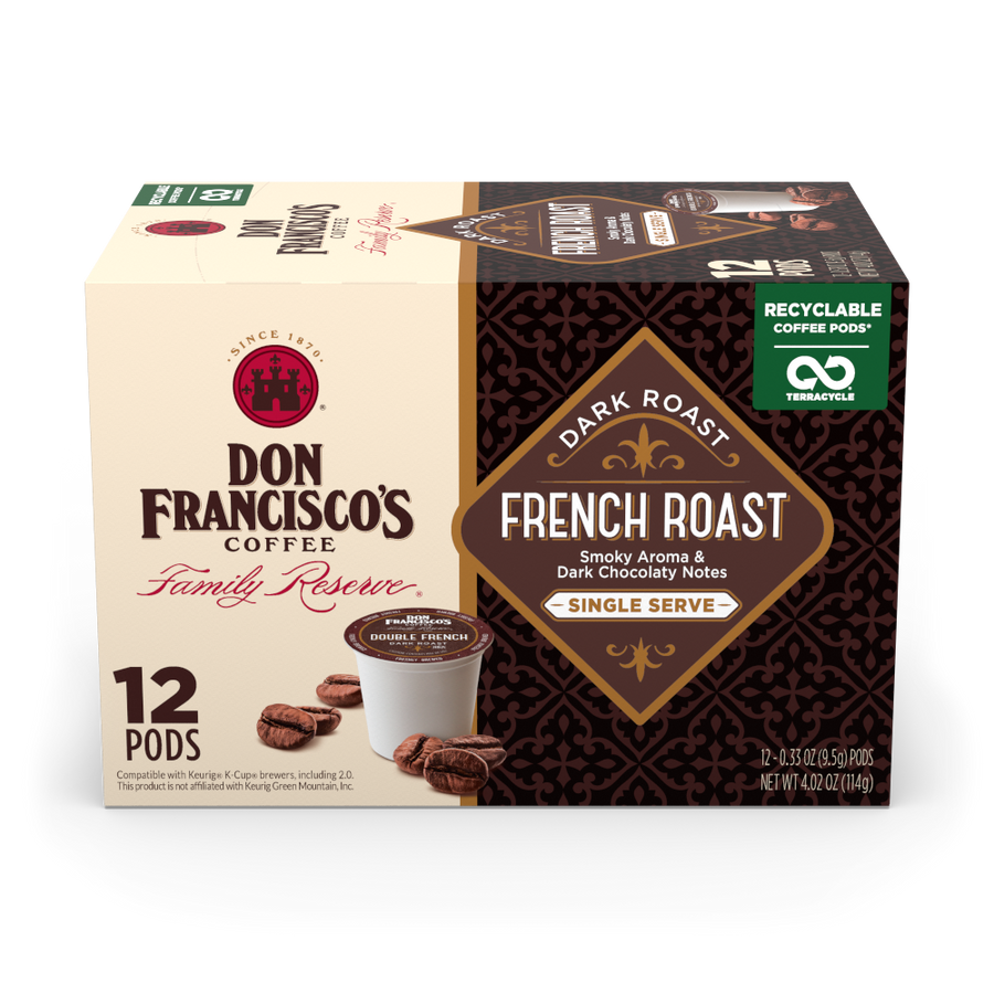 French Roast Coffee Pods