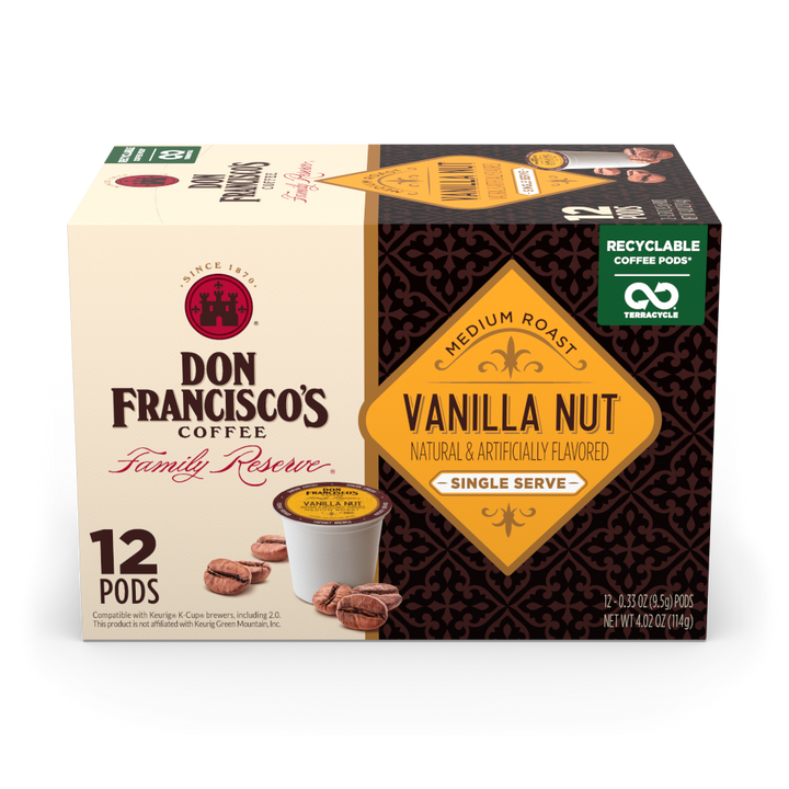 Vanilla Nut Coffee Pods