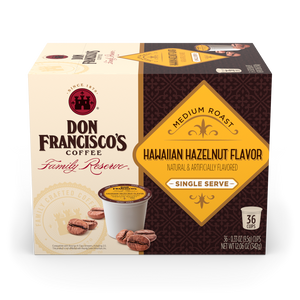 Hawaiian Hazelnut Coffee Pods