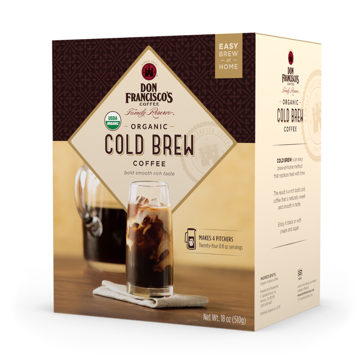 Organic Cold Brew Coffee