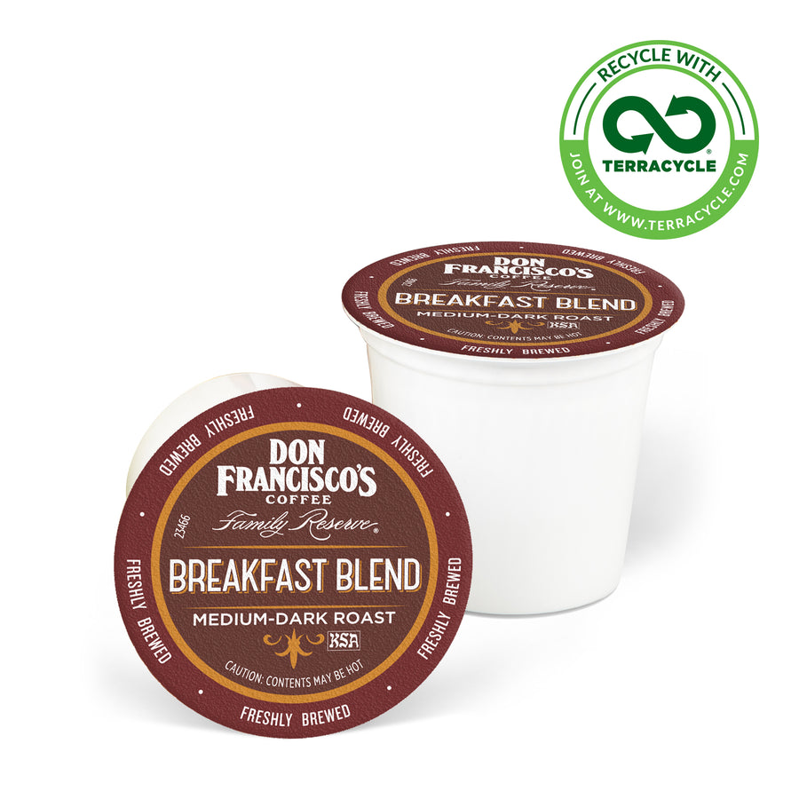 Don Francisco's Coffee Breakfast Blend Recyclable Coffee Pods