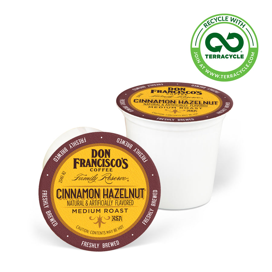 Don Francisco's Coffee Cinnamon Hazelnut Recyclable Coffee Pods