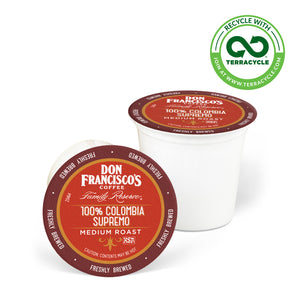 Don Francisco's Coffee Colombia Supremo Recyclable Coffee Pods