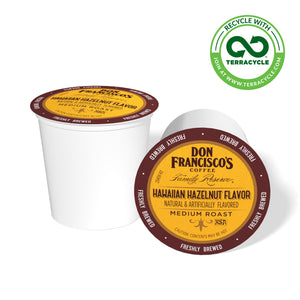 Don Francisco's Coffee Hawaiian Hazelnut Recyclable Coffee Pods