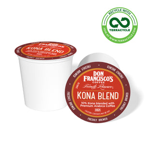 Don Francisco's Coffee Kona Blend Recyclable Coffee Pods