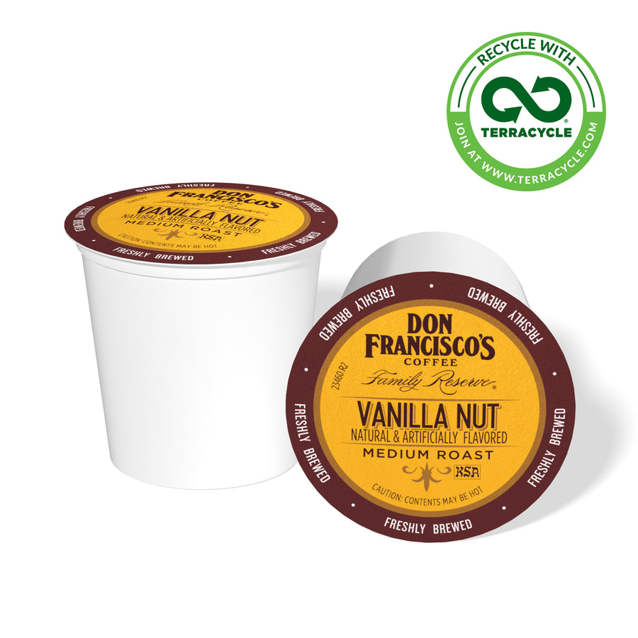 Don Francisco's Coffee Vanilla Nut Recyclable Coffee Pods