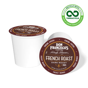 Don Francisco's Coffee French Roast Recyclable Coffee Pods