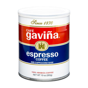 Don Francisco's Coffee Gaviña Espresso 10 oz. can fine grind