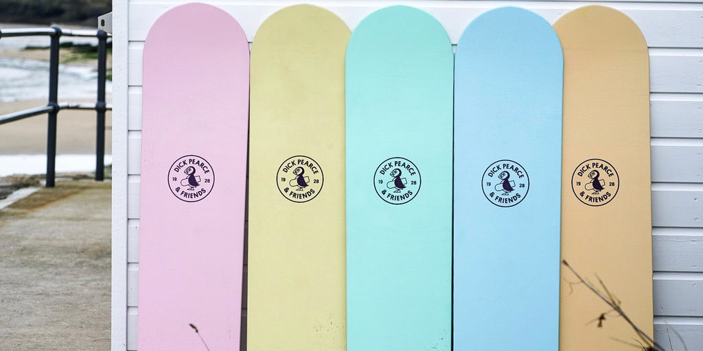 Wooden Bellyboards from Dick Pearce Bellyboards