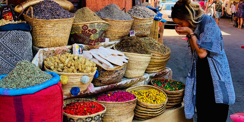 Spices in the Jewish Quarter of Marrakech