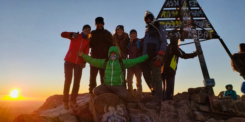 We made it to the peak of Toubkal