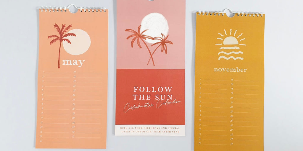 Perpetual Calendars from Once Upon a Tuesday