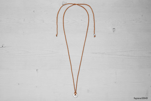 Chestnut Brown El Camino Necklace