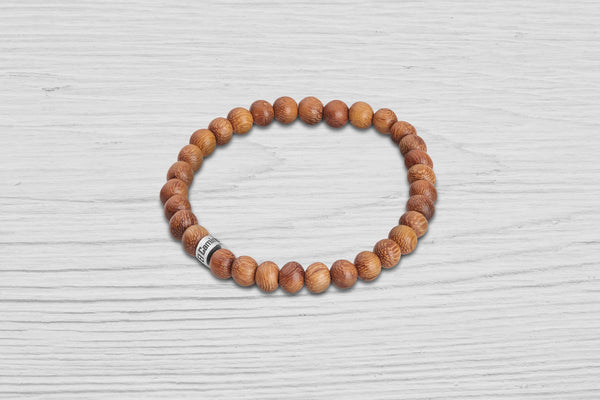 El Camino Light Wood Bracelet
