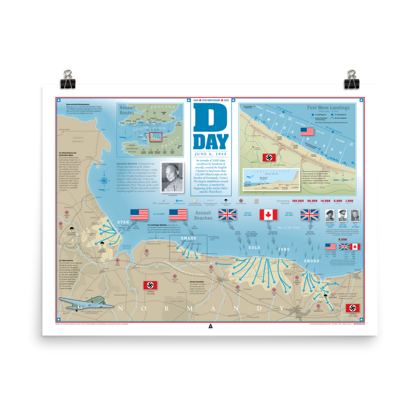 D-Day Infographic