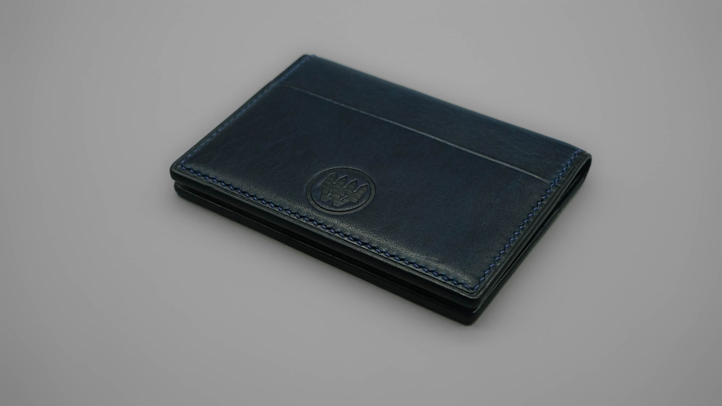 Deluxe Card Sleeve - Navy