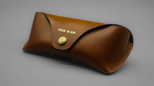Classic Glasses Case - Cocoa