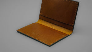 Slim Card Sleeve - Cocoa