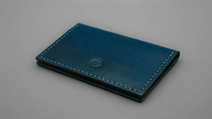 Slim Card Sleeve - Navy