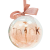 ThinK Big & Beautiful Christmas Bauble