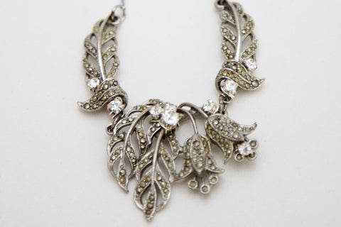 Floral Flapper - Necklace